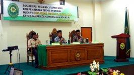 Unsur Pimpinan dan Hakim PA Rantau  Ikuti Pembinaan di PTA Banjarmasin