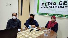 PA.Rantau Ikuti Zoom Meeting Persiapan Peresmian Gedung Kantor di Manado
